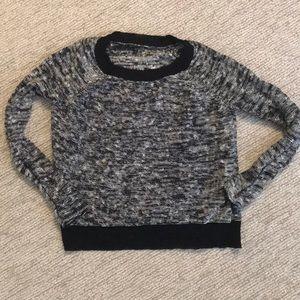 Eileen Fisher Melange Linen Twist Bateau sweater